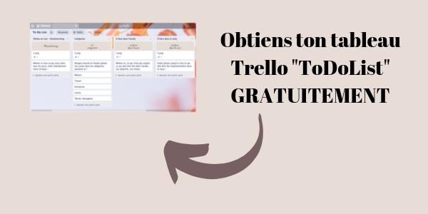 Télécharge ton tableau Trello